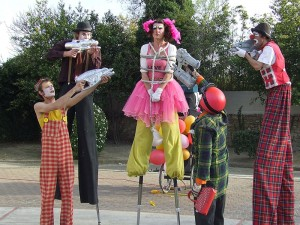 Spectacle la vadrouille des clowns